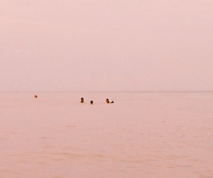 pink, aesthetic, and sea image