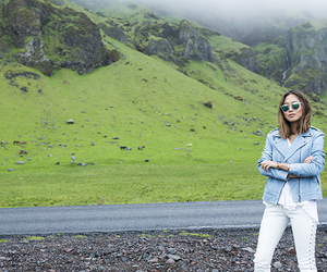 fashion, girl, and iceland image