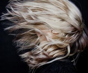 hair, blonde, and grunge image