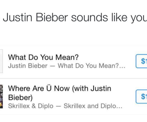 funny, music, and justin bieber image