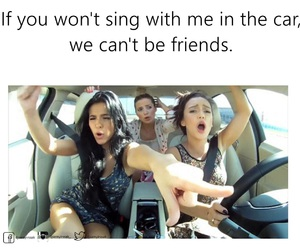 best friends, sing, and songs image