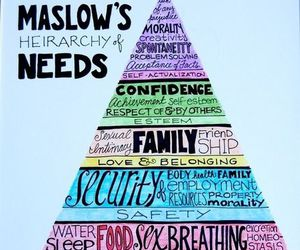 needs and maslow image