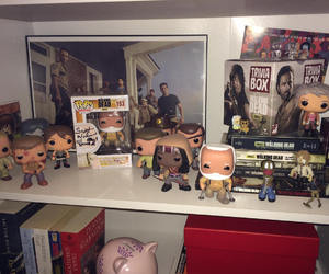 lindo, serie, and the walking dead image