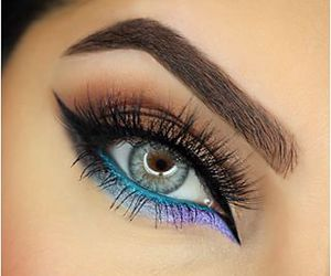 fashion, makeup, and hairstyle image