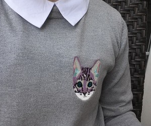 clothes, clothing, and collar image