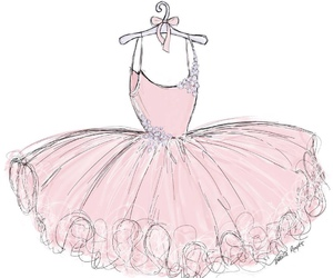 ballerina, ballet, and pink image