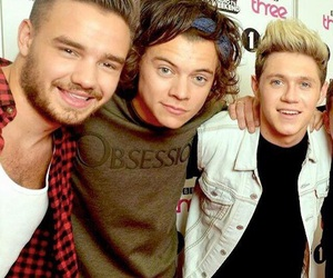 liam payne, niall horan, and Harry Styles image