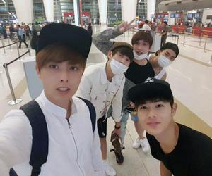 kevin, taehun, and friends image