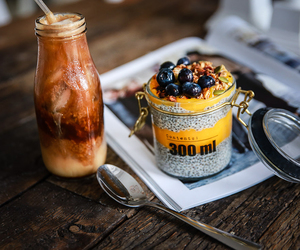 berries, brunch, and coffee image