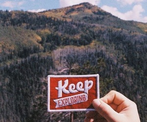 explore, mountains, and nature image