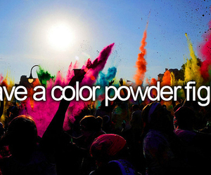 color, powder, and before i die image