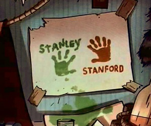 stan, Stanford, and gravity falls image