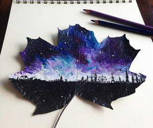 3D art, drawing, and leaf image