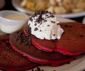 black, breakfast, and chocolate image