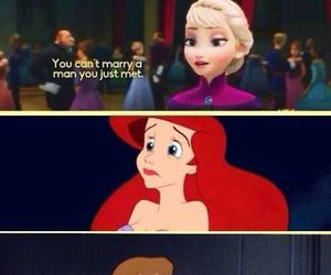 disney, frozen, and princess image