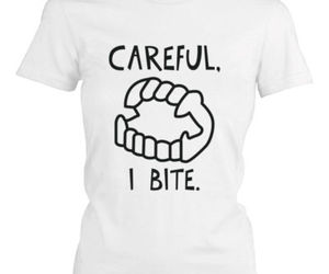 funny shirt, white shirt, and cute shirt image