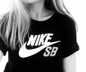 clothing, hair, and nike image