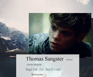 wallpaper, thomas brodie sangster, and cute image