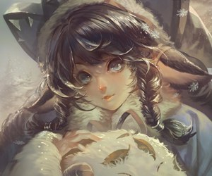 lulu, league of legends, and poro image