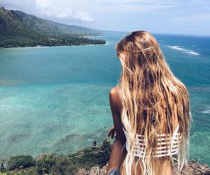 body, girl, and paradise image