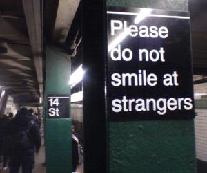 smile, grunge, and stranger image