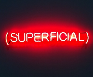 red, neon, and superficial image