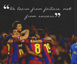 quote, Barcelona, and failure image
