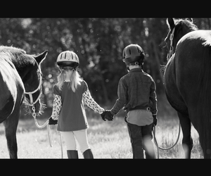 animal, children, and equestrian image