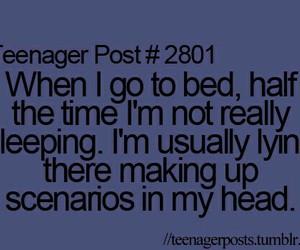 teenager post, sleep, and true image