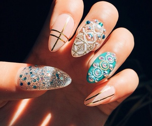beauty, design, and manicure image