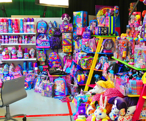colorful, lisa frank, and lisa frank's office image