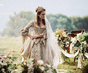 keira knightley, dress, and pirates of the caribbean image