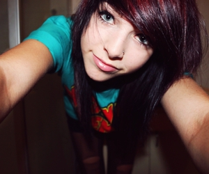 beautiful, emo, and girl image