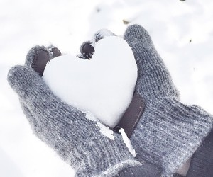 heart, winter, and freedon image