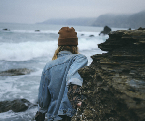 girl, nature, and grunge image