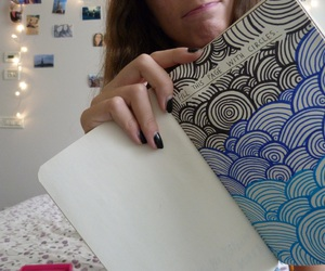 girl, wreck this journal, and tumblrquality image