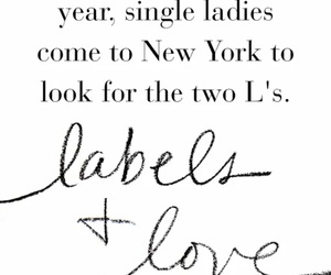quote, label, and new york image