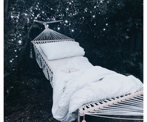 bed, decor, and summer image