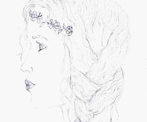 art, profile, and draw image