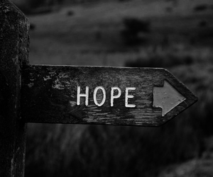 black, hope, and ➡ image