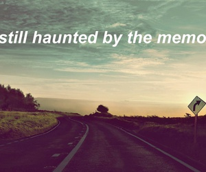 haunted, I Love You, and memories image