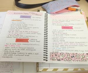 desk, school, and motivation image