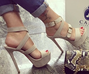 beauty, shoes, and chic image