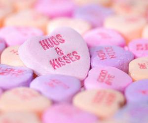 kiss, hug, and love image