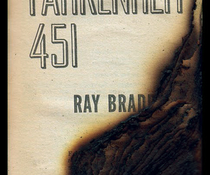book and fahrenheit 451 image