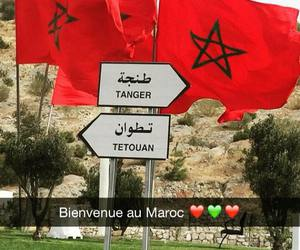 flag, tanger, and maghreb image