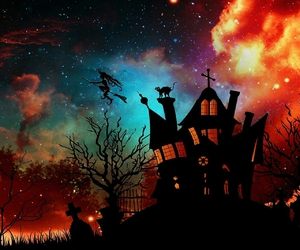 colour, night, and Halloween image