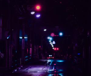 night, light, and neon image