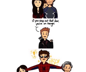 Avengers, funny, and hawkeye image