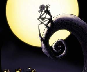 jack, tim burton, and Halloween image